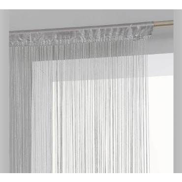 rideau fil 90x200cm gris atmosphera
