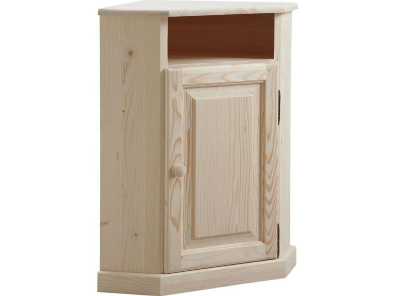Petit meuble dangle en bois brut  Vente de AUBRY GASPARD  Conforama
