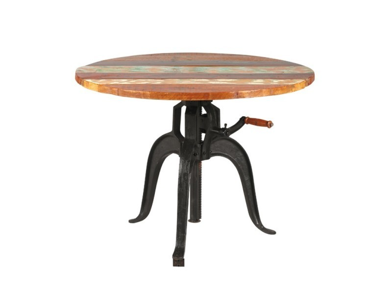 table d appoint a hauteur variable denver l 90 x l 90 x h 75 neuf