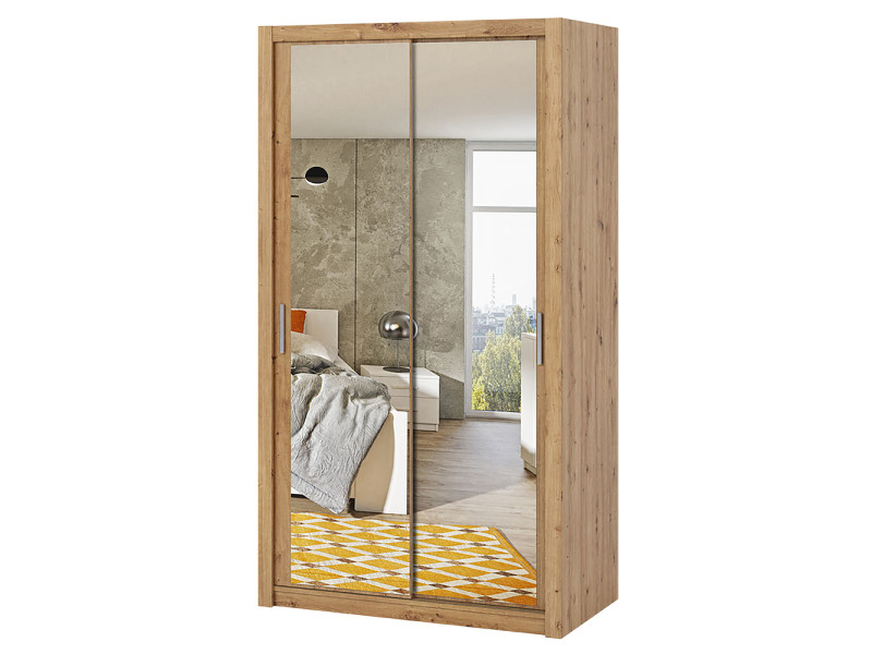 Armoire Chambre Portes Miroirs Coulissantes
