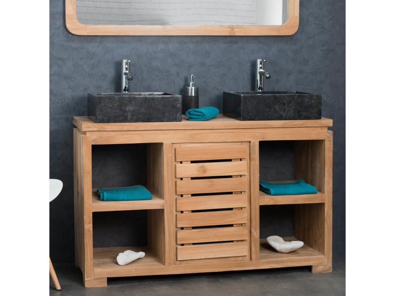 meuble salle de bain 130 cm bright