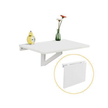 table murale rabattable en bois table