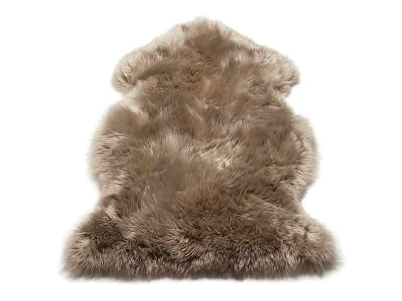descente de lit pure peau de mouton softy 120x180 cm