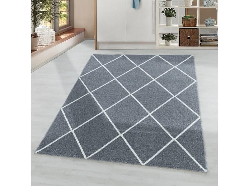 scandi colors tapis scandinave colore gris 140 x 200 cm