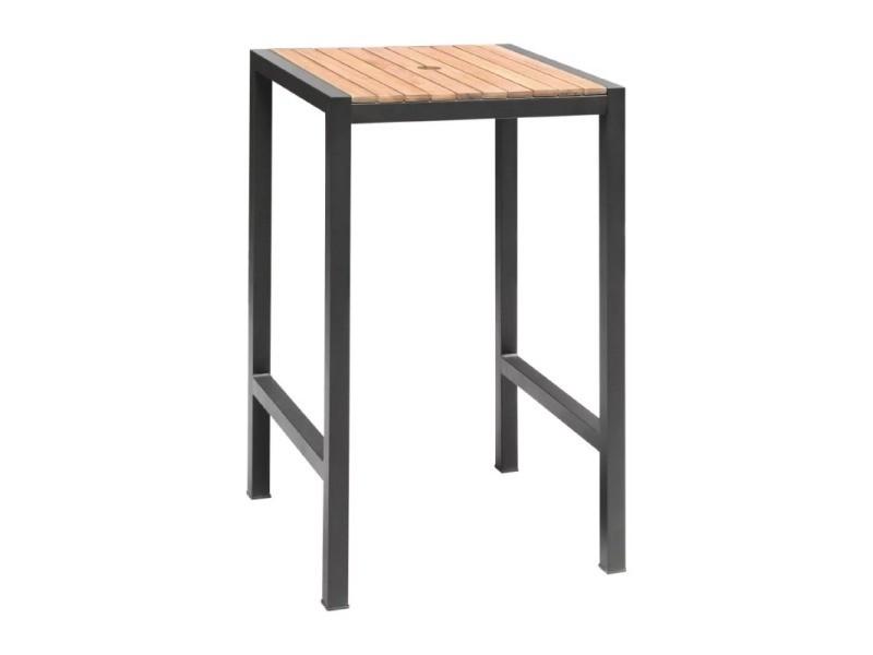 table mange debout hauteur 1000 mm bolero 100 cm