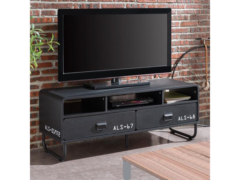 meuble tv meuble salon brock 120