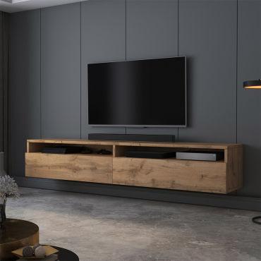 meuble tv rednaw 180 cm chene