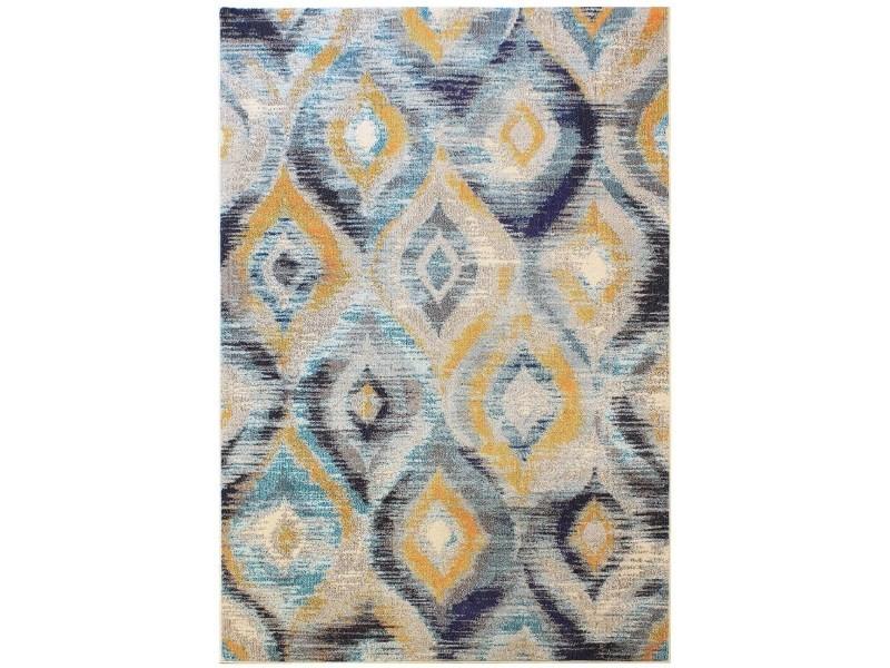 tapis tisse plat a motifs blush 200x300 cm