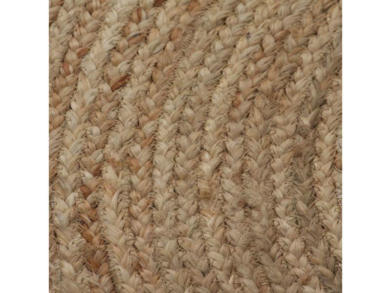 https www conforama fr decoration textile tapis tapis salon et chambre vidaxl tapis jute tresse 120 cm rond 120 cm p b23003892