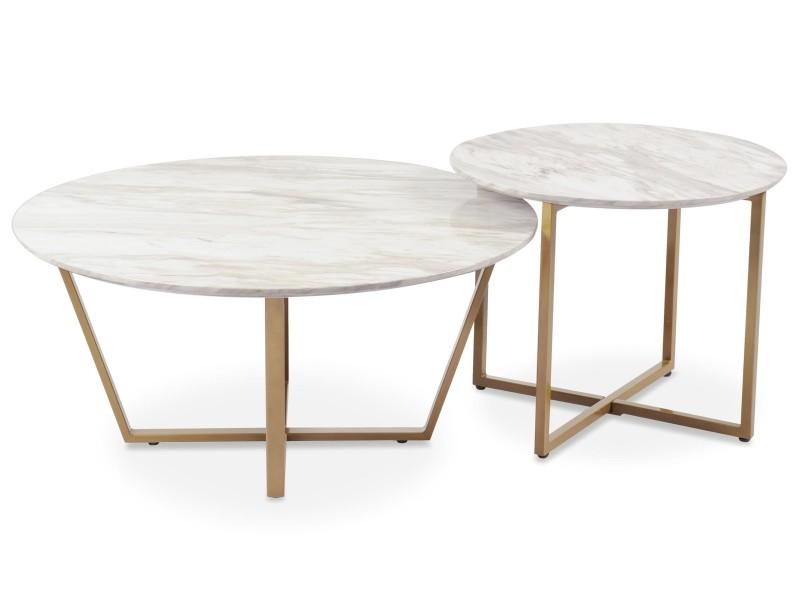 table basse marbre