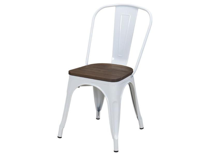 chaises bois fer