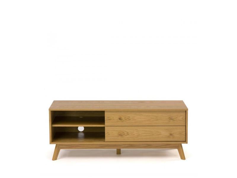 meuble tv design bois massif
