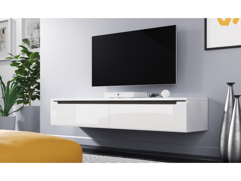 meuble tv swift 140 cm blanc