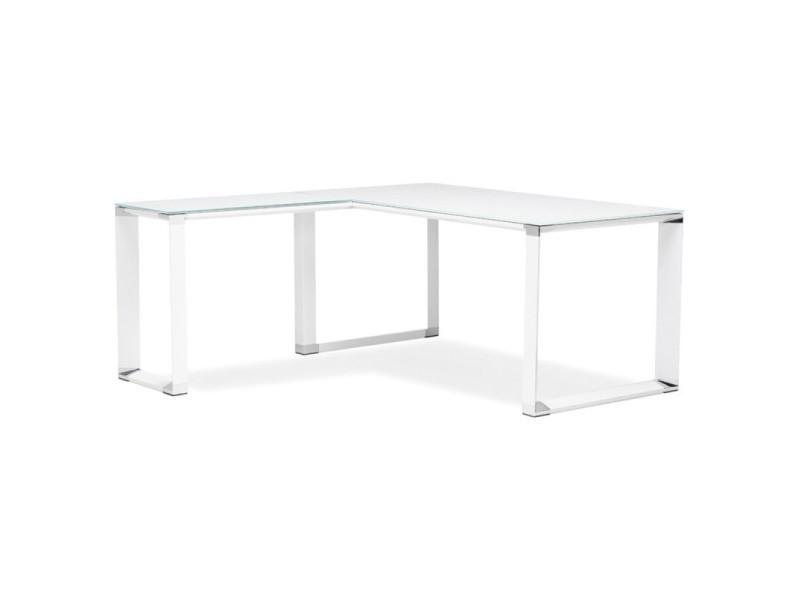 angle design hovik verre blanc