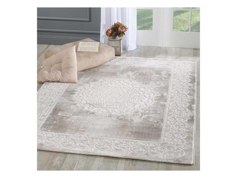 https www conforama fr decoration textile tapis tapis salon et chambre tapis style oriental 160x220 cm rectangulaire khy balrod beige salon adapte au chauffage par le sol p j55554995
