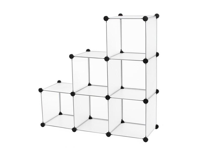 etagere cube plastique