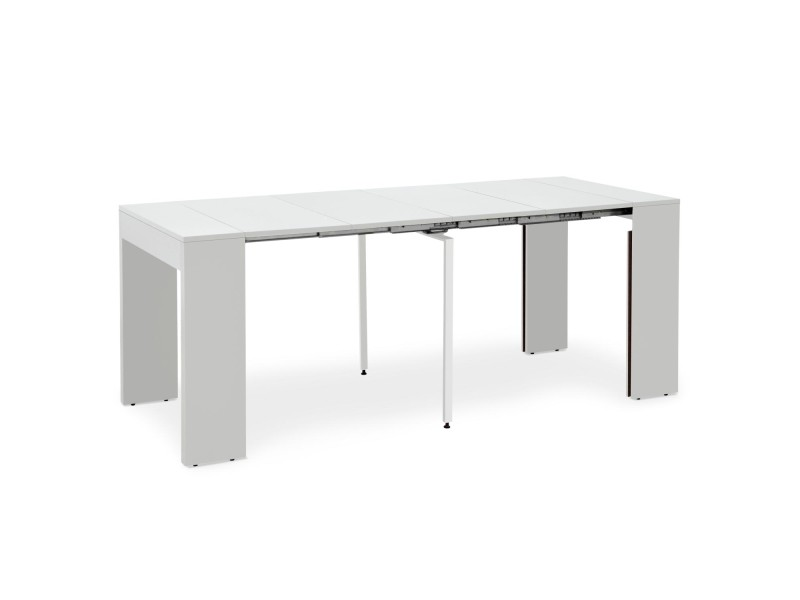table blanc extensible