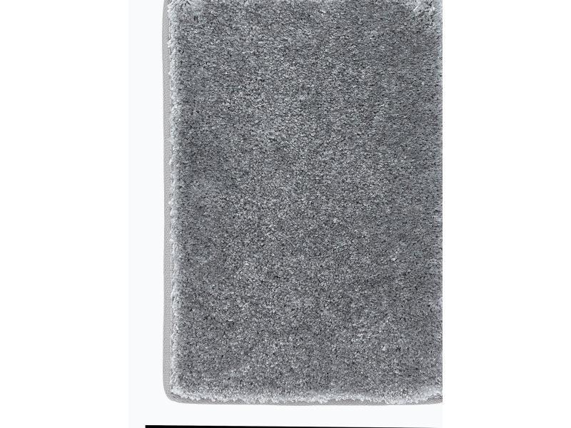 tapis design et moderne 200x300 cm rectangulaire luminozalong gris salle a manger adapte au chauffage par le sol