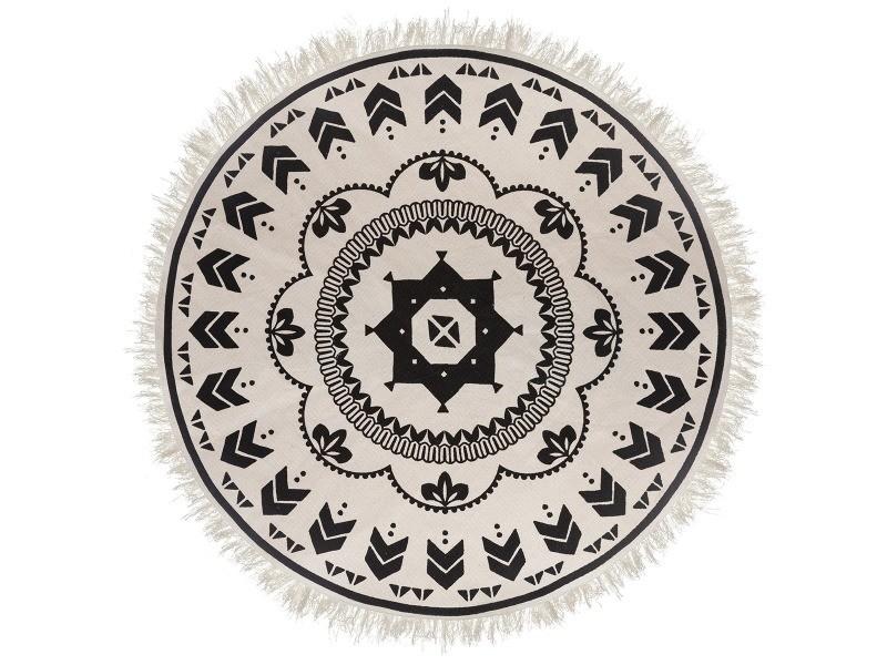 tapis rond nomade 120 cm