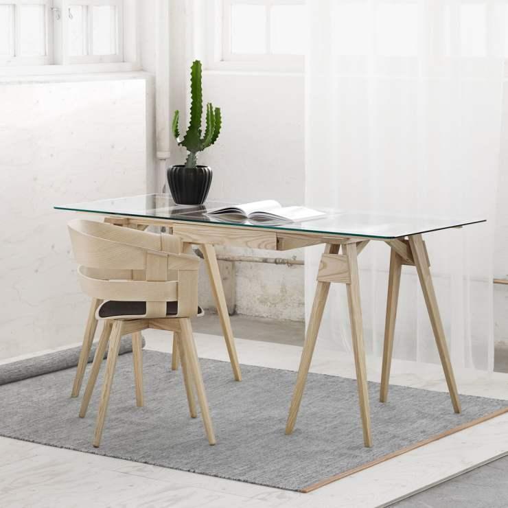 Schreibtisch Mit Böcken 2021