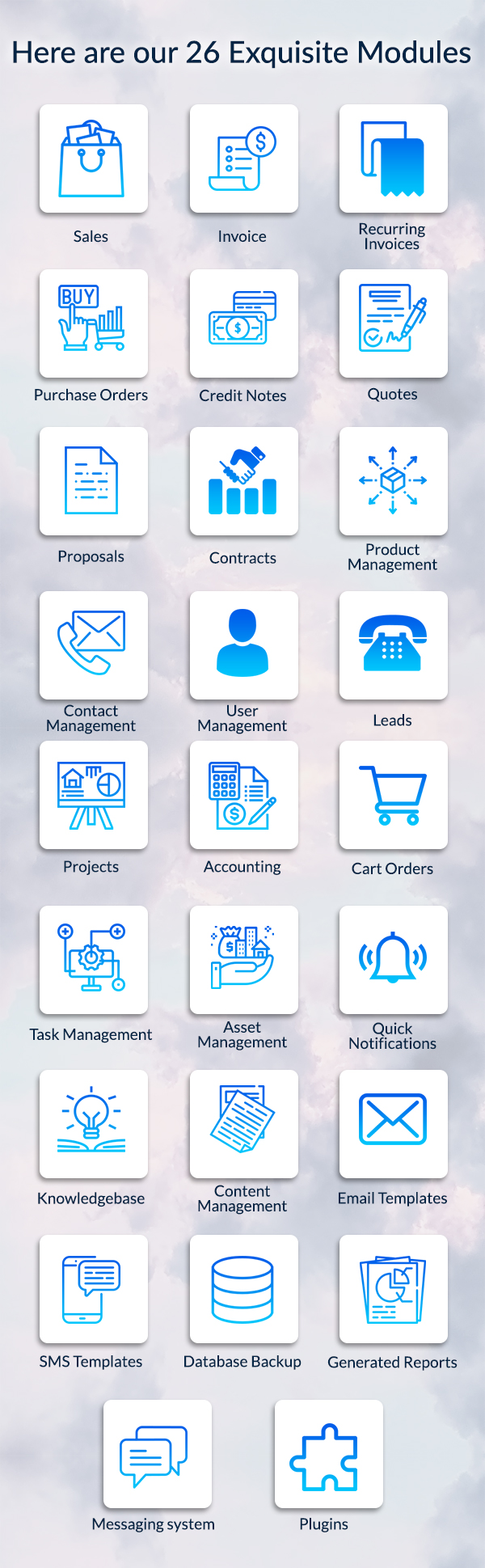 , LaraOffice Ultimate CRM and Project Management System, Laravel & VueJs