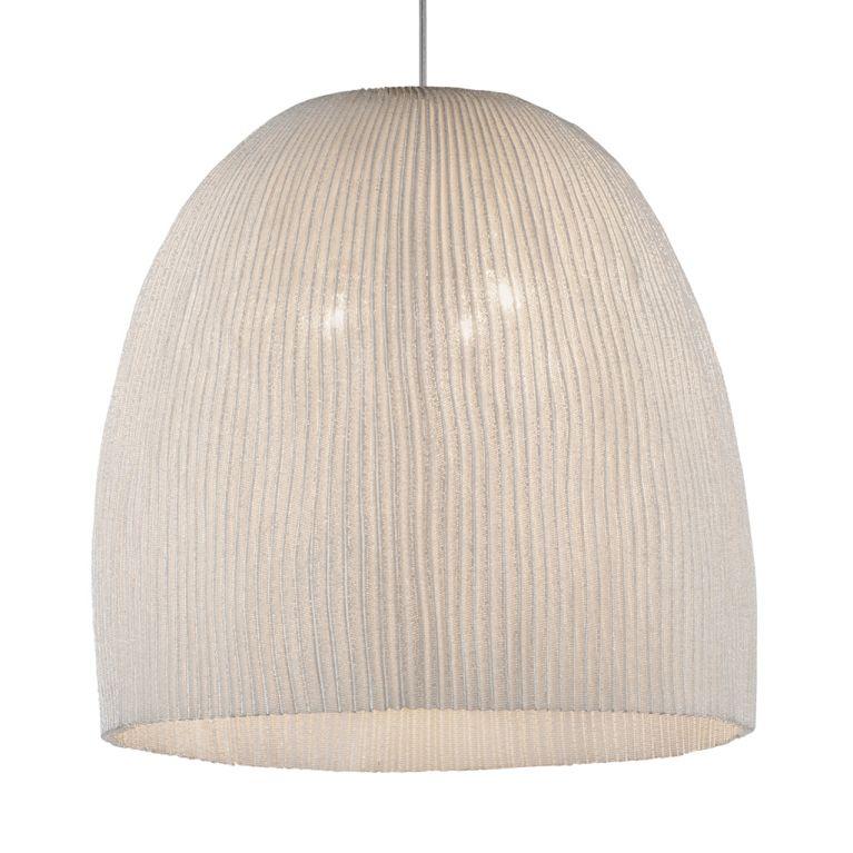 large onn pendant light in white