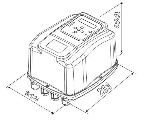 Convertizor de frecventa (variator de turatie) trifazat