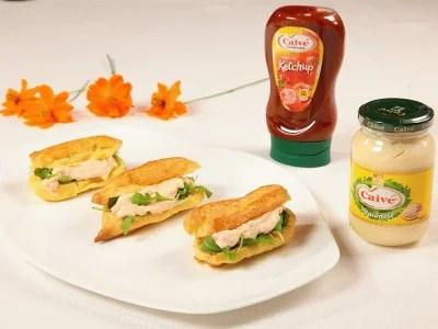 Eclair farciti con salsa ai wurstel Ricette di Cookaround