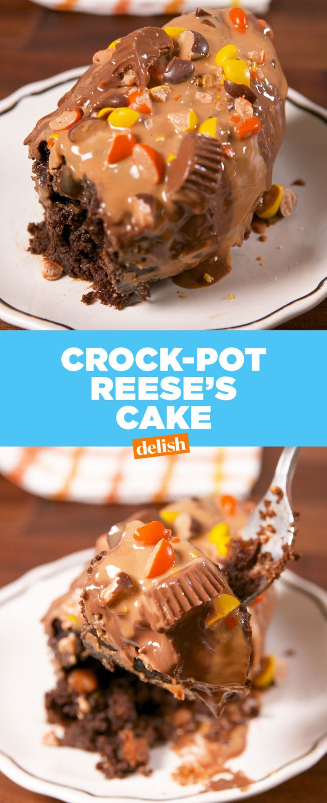 Crock-Pot Reese's Cake | OH for the Love of Food & Booze | Copy Me That