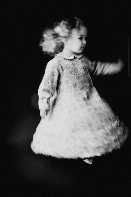 Josie spinning bw 2_