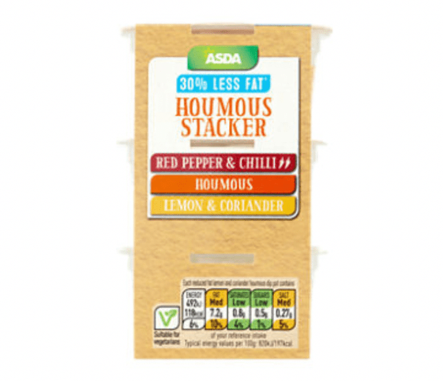 Asda Houmous Stacker