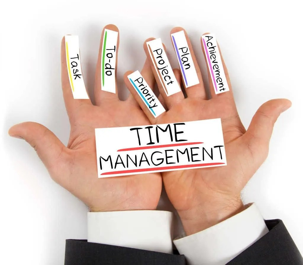 time management list of