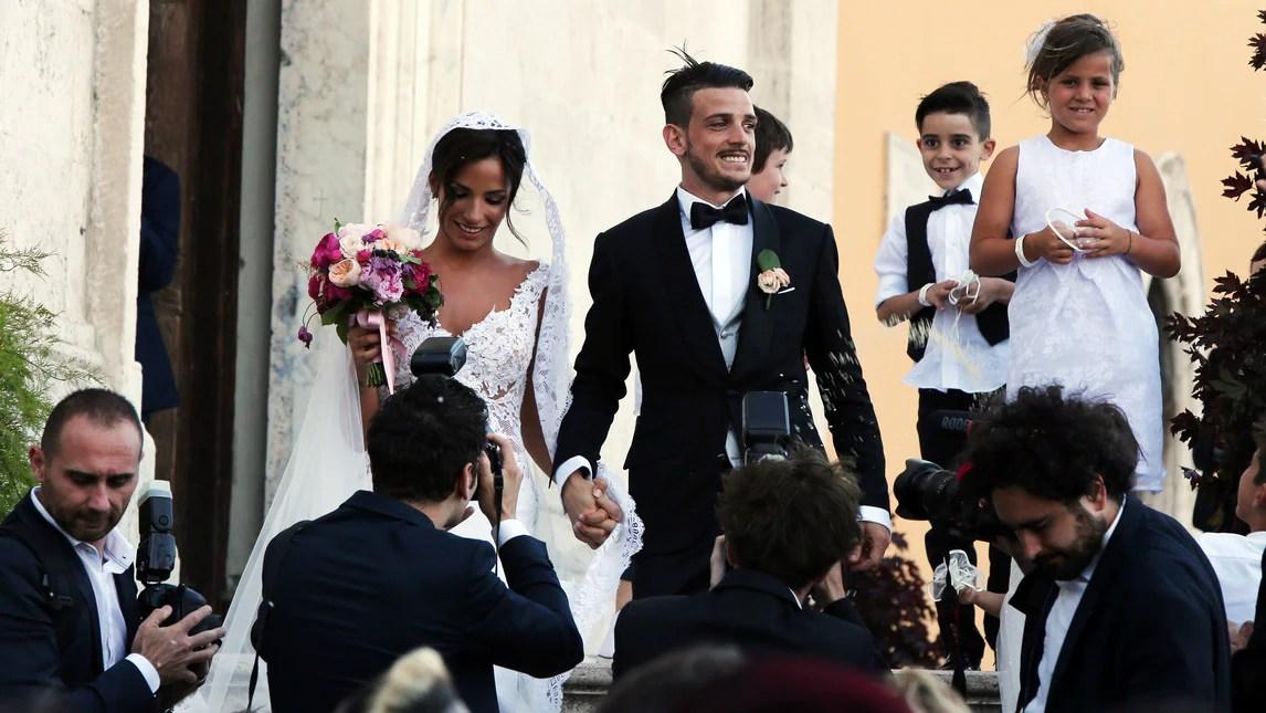 Roma al Gianicolo il matrimonio da favola di Florenzi e