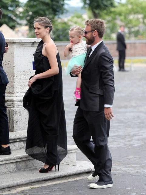 Roma al Gianicolo il matrimonio da favola di Florenzi e Ilenia  Corriere dello Sport