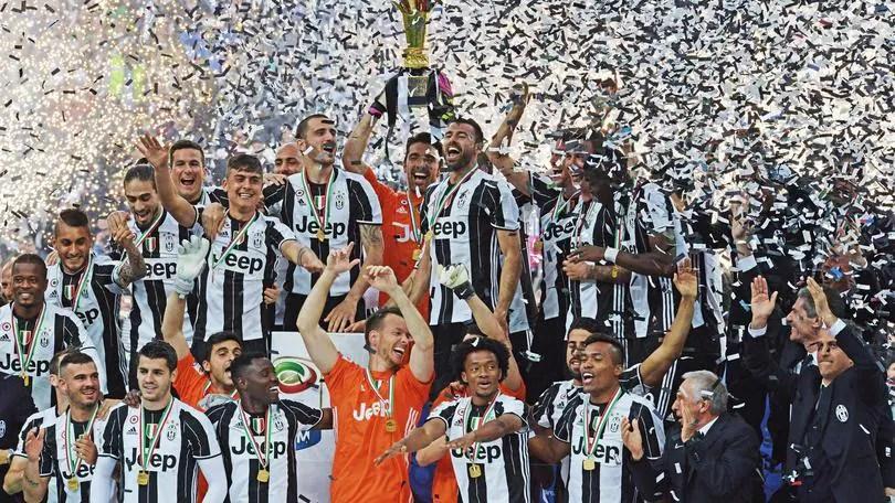 Juve festa scudetto tutte le dichiarazioni le FOTO e i VIDEO  Corriere dello Sport
