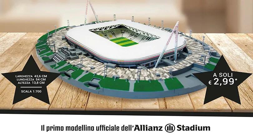 Costruisci lAllianz Stadium  Corriere dello Sport