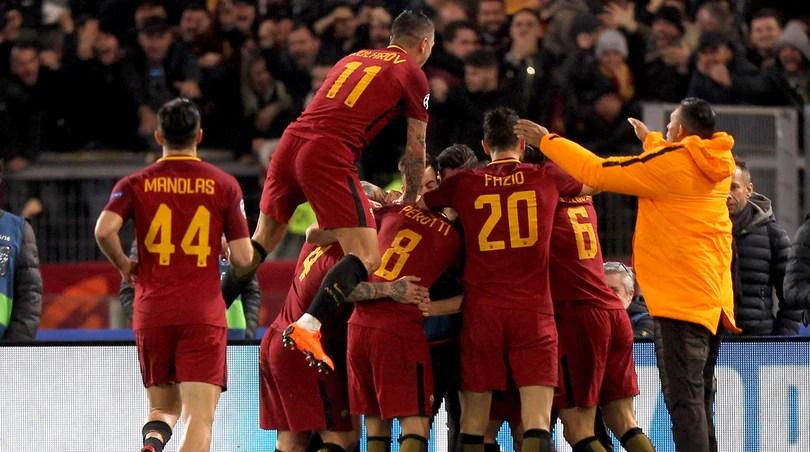 Roma-Shakhtar 1-0: Dzeko manda la Roma ai quarti di finale di Champions