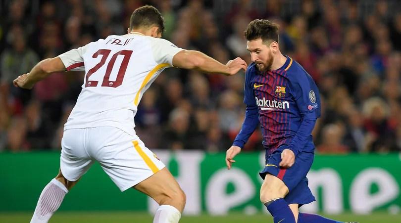 Champions League: sbarca Messi e la Roma fa il record