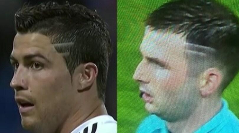 Real-Juventus, l'arbitro Oliver e quell'acconciatura alla CR7