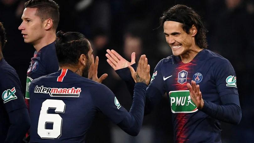 Coppa di Francia Psg agli ottavi ma in ansia per Neymar  Corriere dello Sport