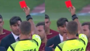 Fonseca furious with the referee Massa: expelled!