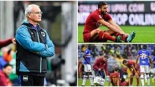 Ranieri brakes Rome. Kalinic and Cristante ko