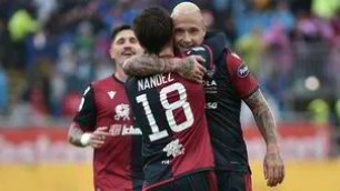 Nainggolan overflowing, Cagliari's fanfare on the Fiorentina