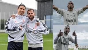 From Ronaldo to Danilo, Juve poses