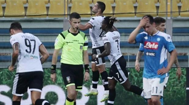 Parma-Napoli 2-1: Kulusevski affonda Gattuso - Corriere dello Sport