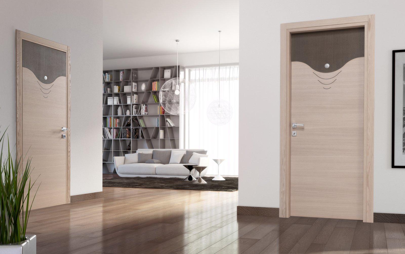 Porte e arredo i consigli su come abbinare stili e rifiniture  Cose di Casa