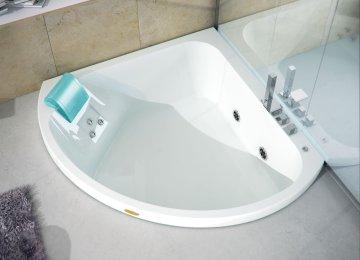 Vasche Da Bagno Angolari Piccole : Vasca da bagno angolare jacuzzi jacuzzi lmcs la maison du