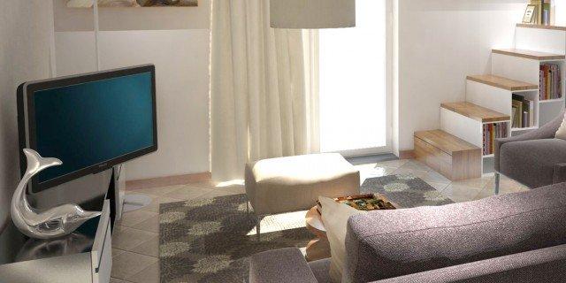 Arredare un soggiorno con tante aperture sulle pareti  Cose di Casa