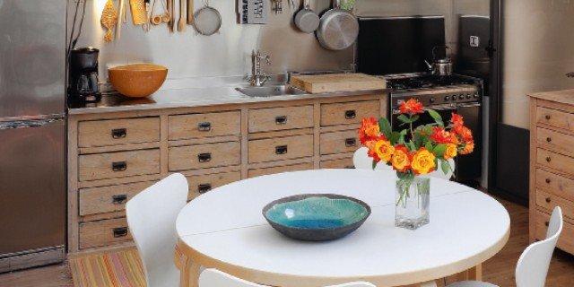 Cucina vintage con elementi di recupero  Cose di Casa