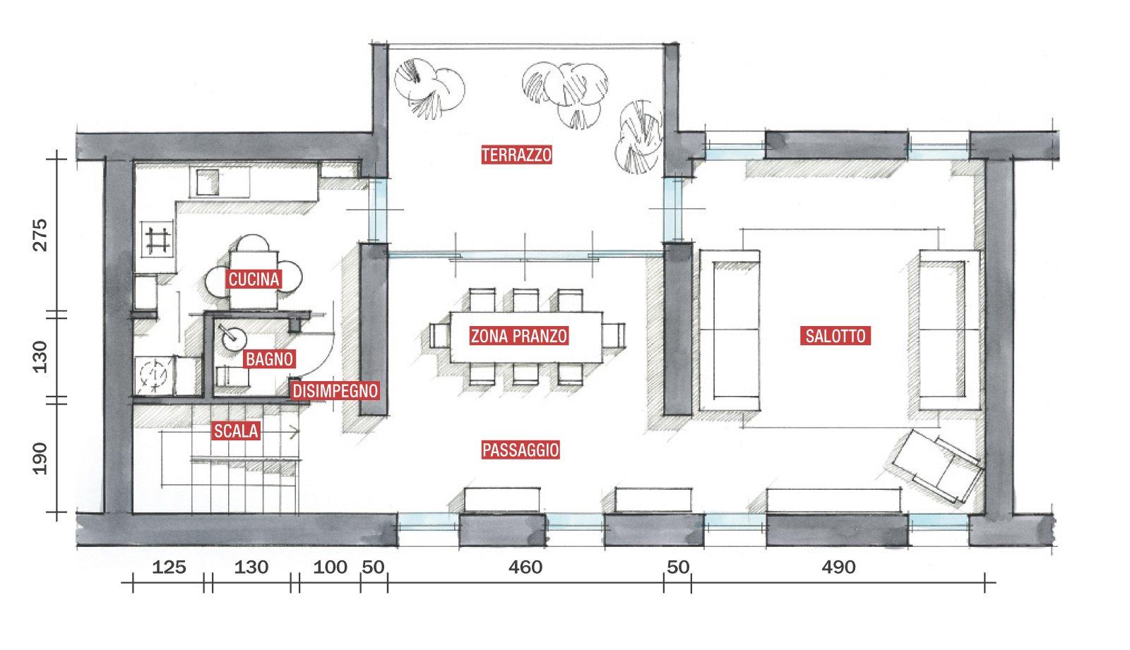 La casa triplica con il recupero del sottotetto  Cose di Casa